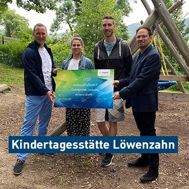 Spende TSA Kindergarten »Löwenzahn«