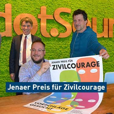 Sponsoring Jenaer Preis für Zivilcourage