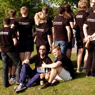 dotSource Jenaer Teamlauf 2011