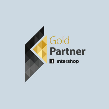 Intershop Partner Logo gold