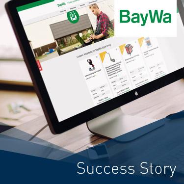 BayWa E-Commerce Plattform