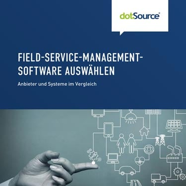 dotSource Whitepaper Field Service Management Software auswählen