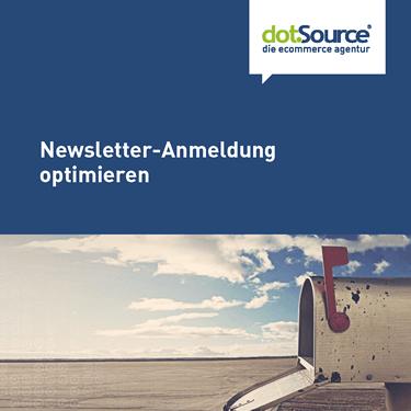dotSource Whitepaper Newsletter-Anmeldung optimieren