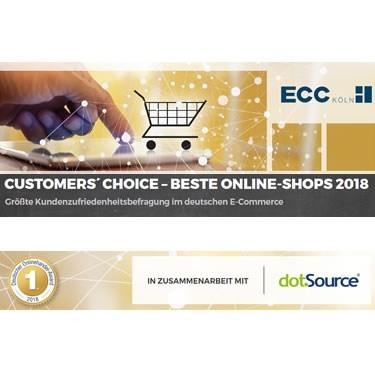 Studie Customers Choice vom ECC Köln und dotSource